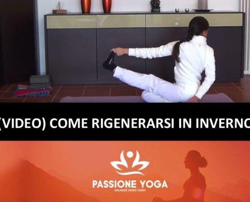 Come rigenerarsi in inverno con lo yoga